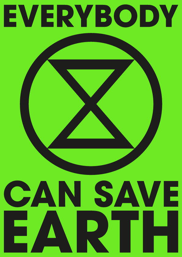 Extinction-Rebellion-Poster-Save-Earth